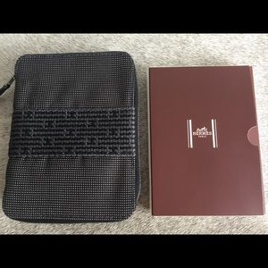 Authentic NEW Hermes herline zip organizer agenda